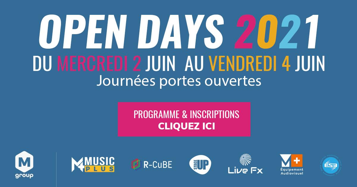 Open Days 2021